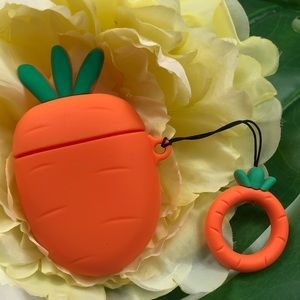 Carrot Apple AirPod case cover